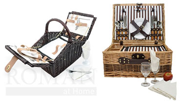 Roman at Home Picnic Baskets