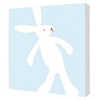 Children's Canvas - Rabbit
