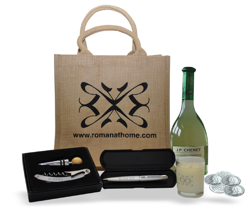 Wine Gift Hamper from Roman at Home