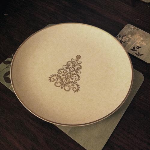 Chrsitmas Dinner Plates