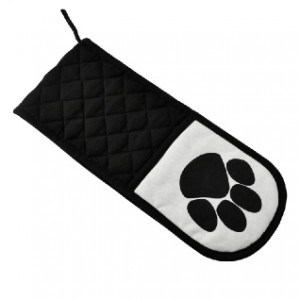 Paw Print Oven Gloves