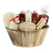 Plum Wooden Gift Pale