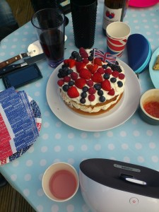 Union Jack British Cake Delights