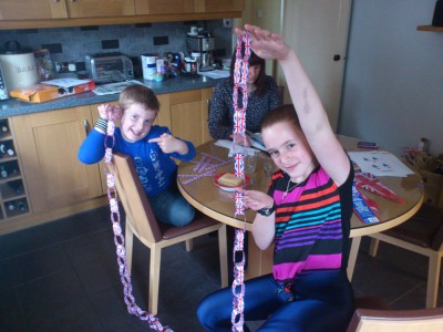 British Paper Chain Making