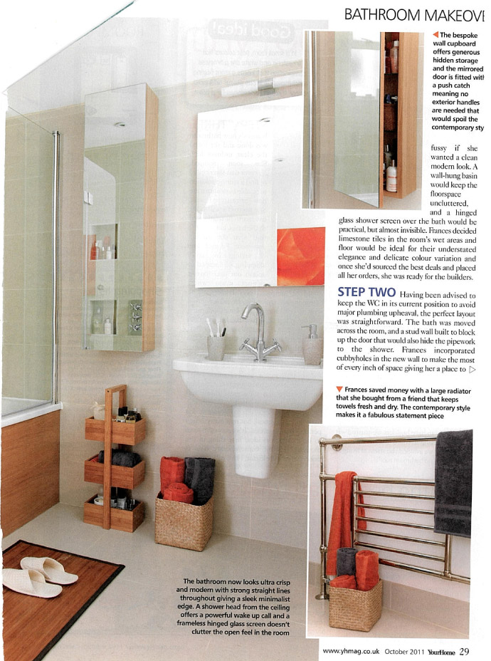 In the Press  Your Home   Bamboo Bathroom Caddy. In the Press  Your Home   Bamboo Bathroom Caddy   Roman at Home