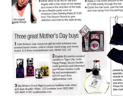 In the Press: Living South - Cath Kidston Manicure Set