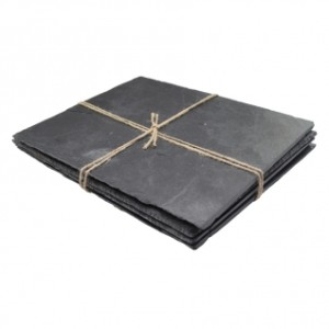 Rectangular Slate Placemats - Pack of 4