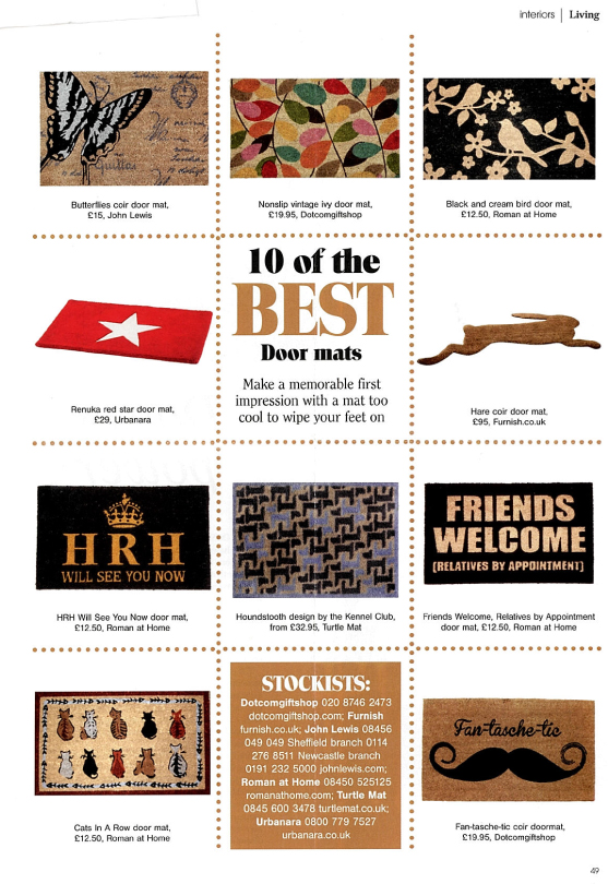 Living North Featured Doormats