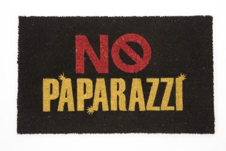No Paparazzi Door Mat