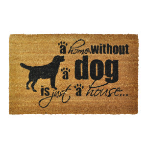 Home without a Dog is Just a House Doormat