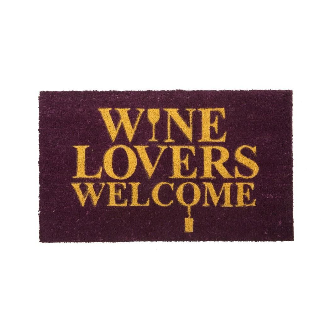 Wine Lovers Welcome Doormat