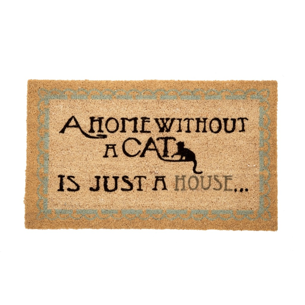 Our Home without a Cat is Just a House Doormat