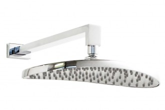 Roman 10 Oval Shower Drench Head