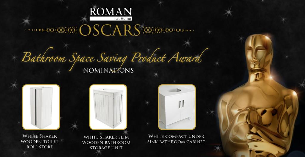 Roman at Home Oscars - bathroom space saving