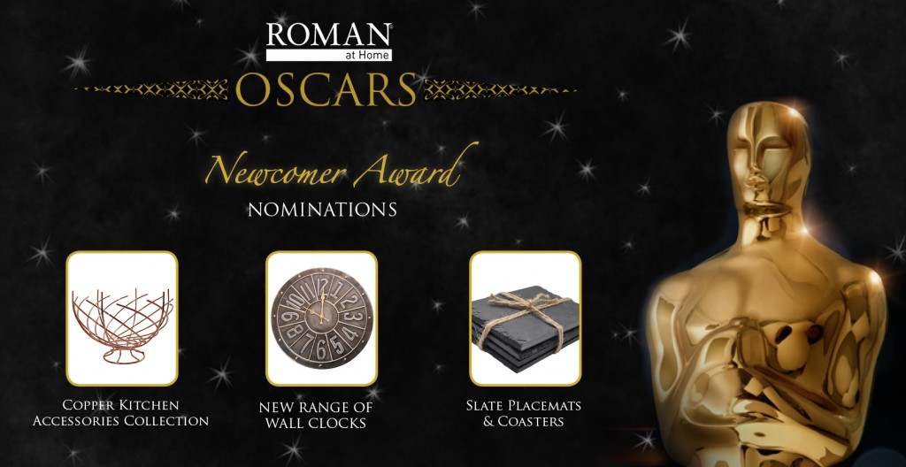 Roman at Home Oscars - newcomer award