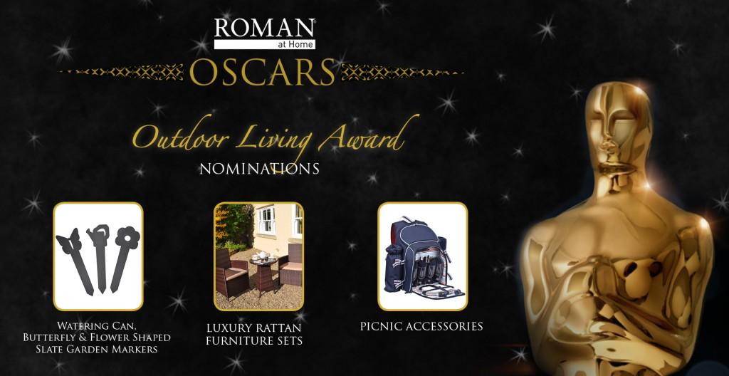 Roman at Home Oscars - outdoor living