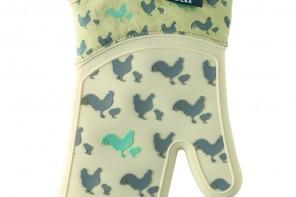 Double Oven Glove Hen Design Price £20.00