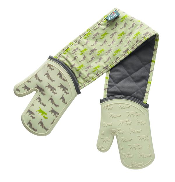 Double Oven Glove Dog Design Price £20.00