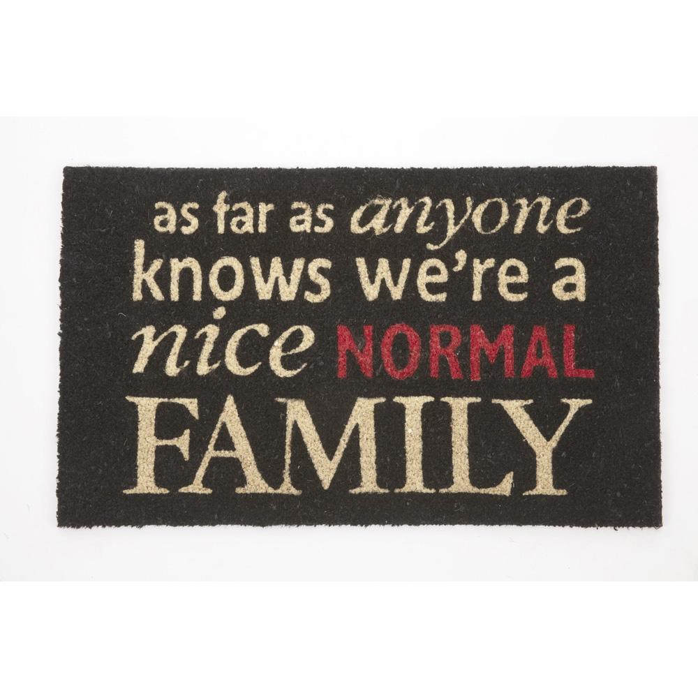Nice Normal Family Door Mat