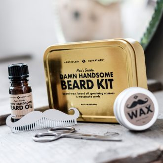 Men's Society Beard Grooming Kit