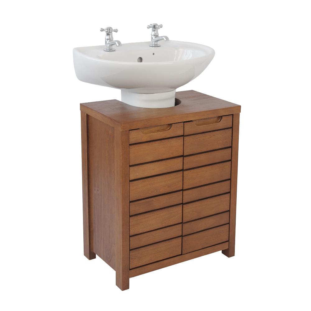 Pine Bathroom Vanity Unit: Roman At Home Essentials