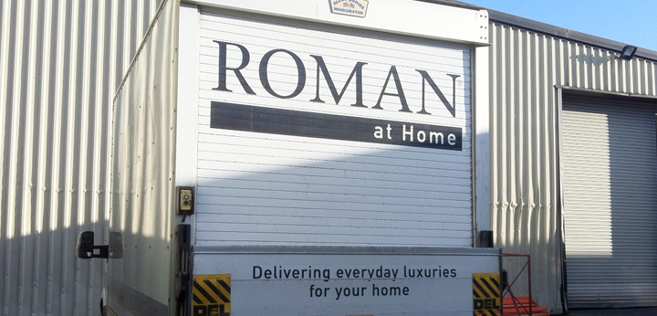 Roman at Home Delivery Van