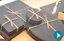 Slate Placemats & Coasters