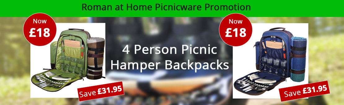 Roman at Home Picnic Hampers