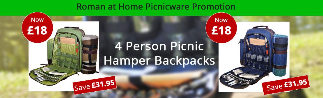 Roman at Home Picnic Hampers