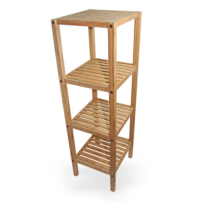 Bamboo Bathroom Storage Unit