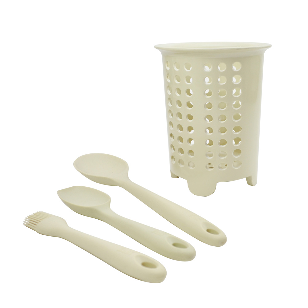 Cream Silicone Baking Set