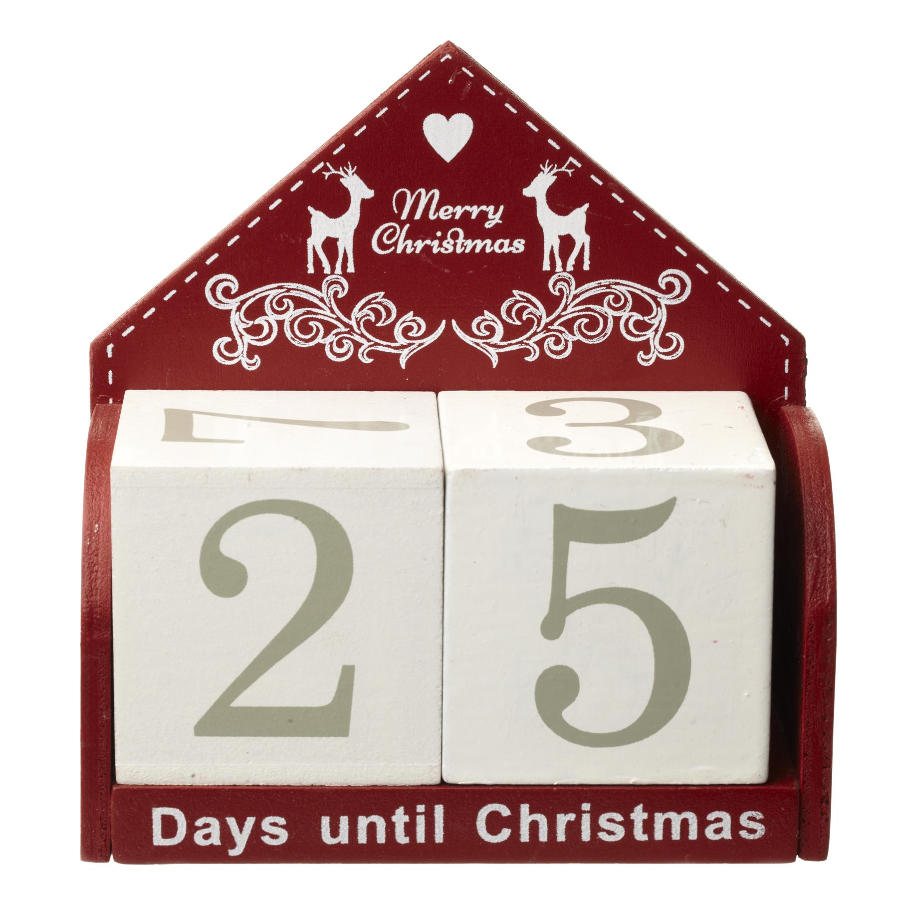 christmas countdown block calendar - Countdown To Christmas