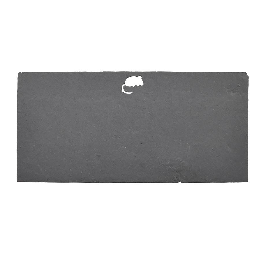 Mouse Cut Out Slate Chesseboard