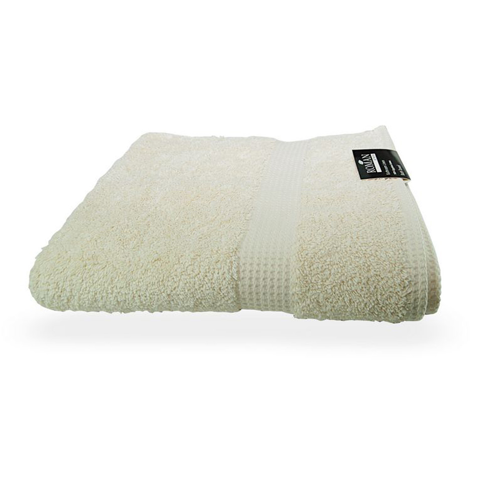 100% Egyptian Cotton Bath Towel - Soft Cream