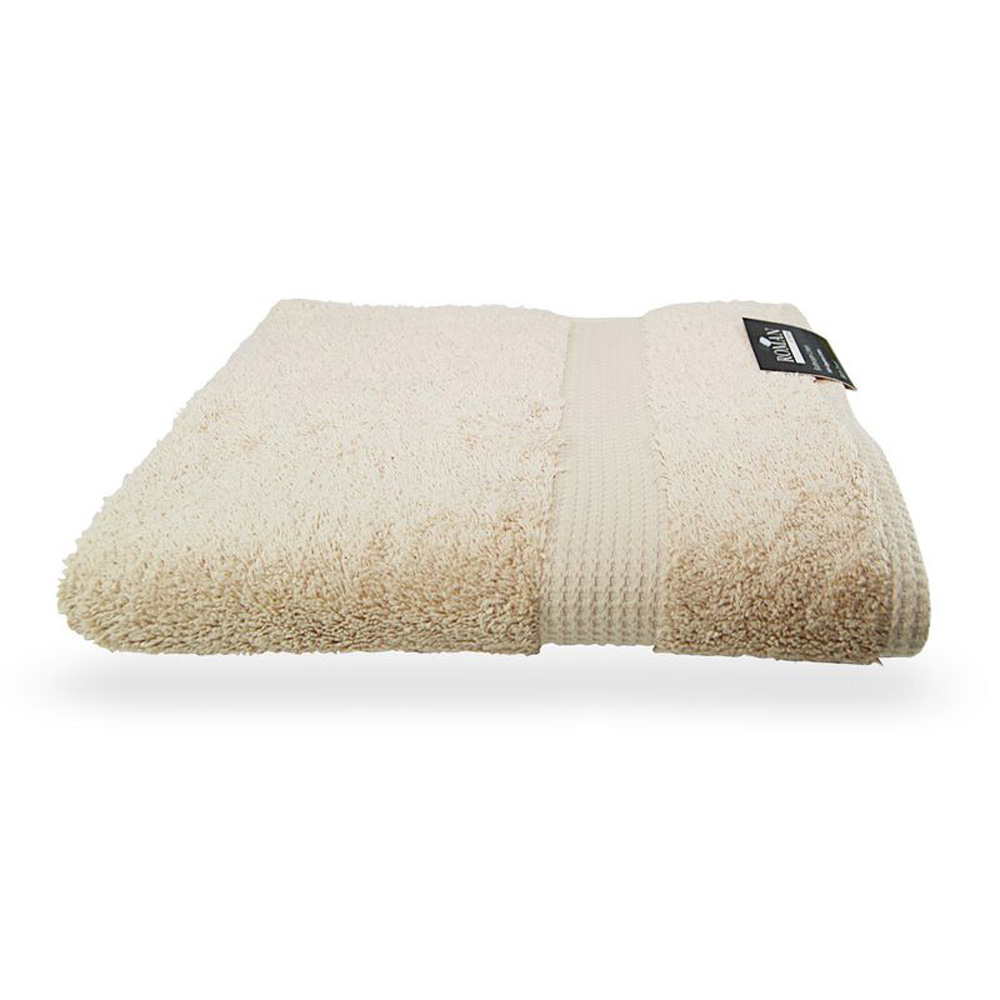 100% Egyptian Cotton Bath Towel - Smooth Latte