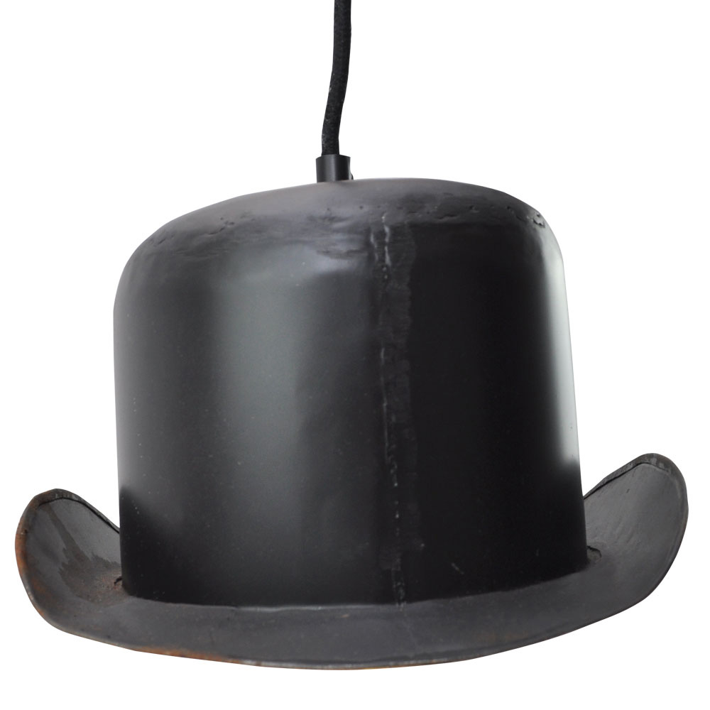 Bowler Hat Hanging Lamp Shade