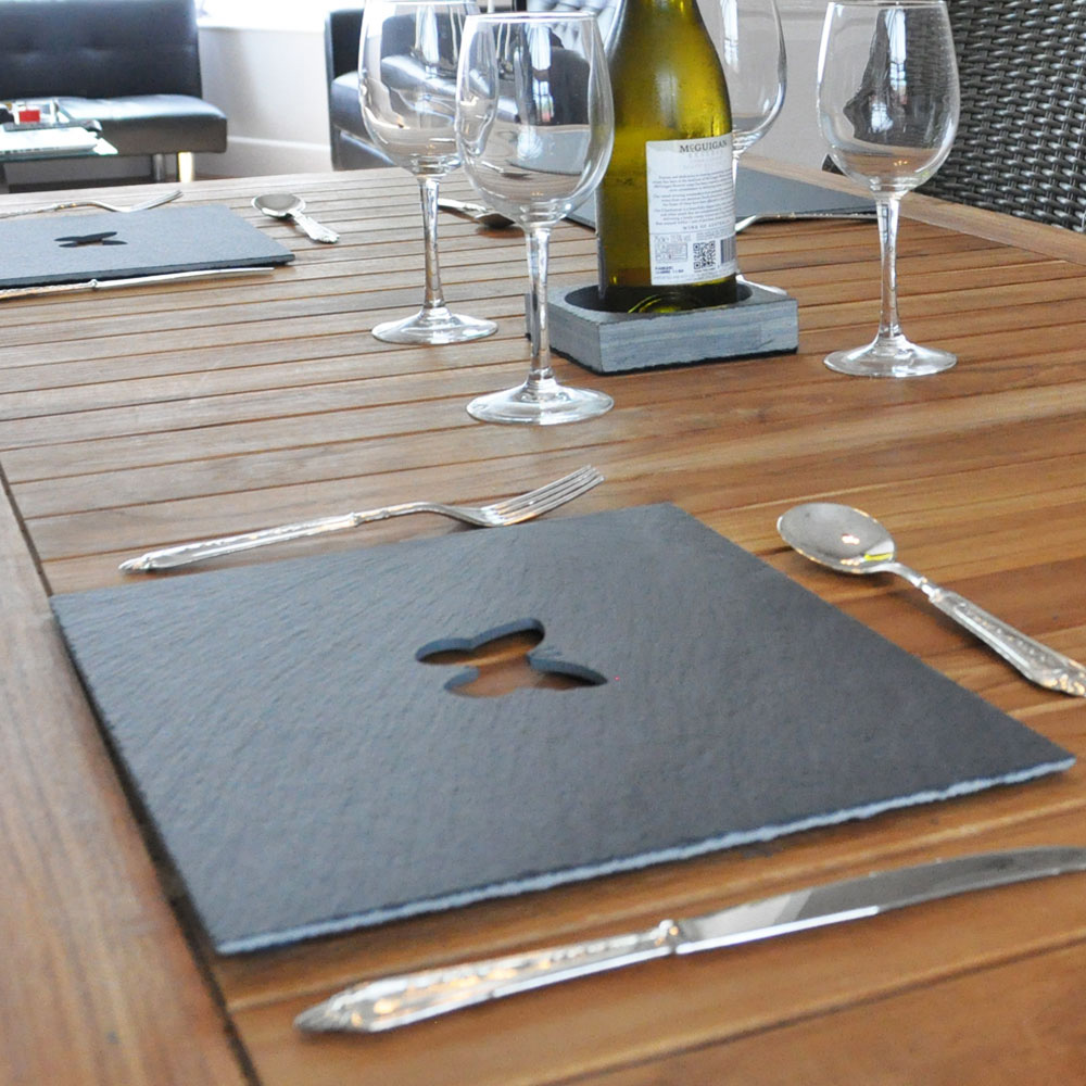 Butterfly Slate Placemats
