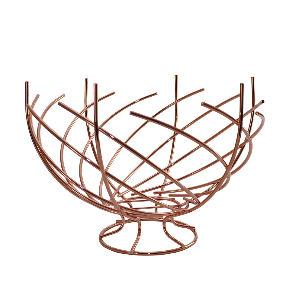 Copper Nest Fruit Bowl