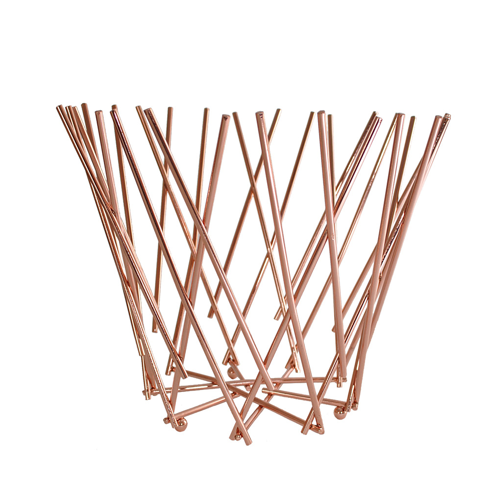 Copper Twig Design Fruit Bowl