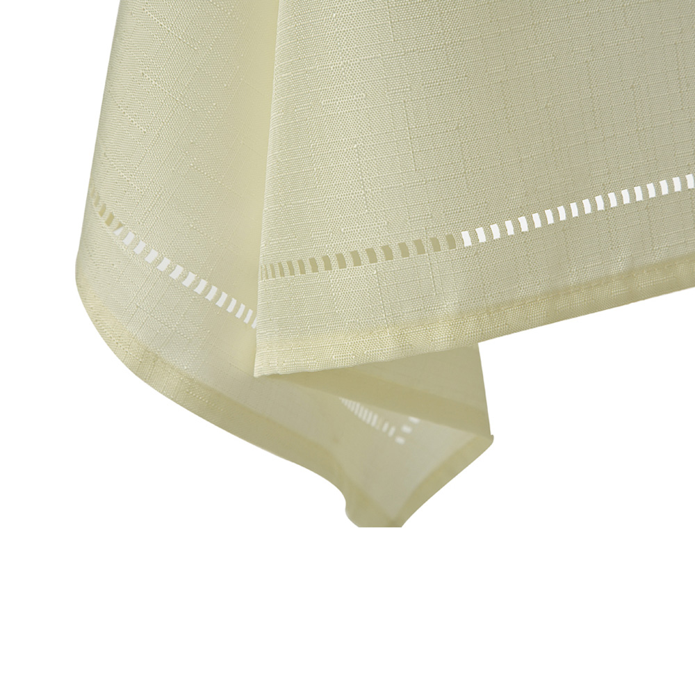 Cream Sienna Tablecloth Square 137X137CM