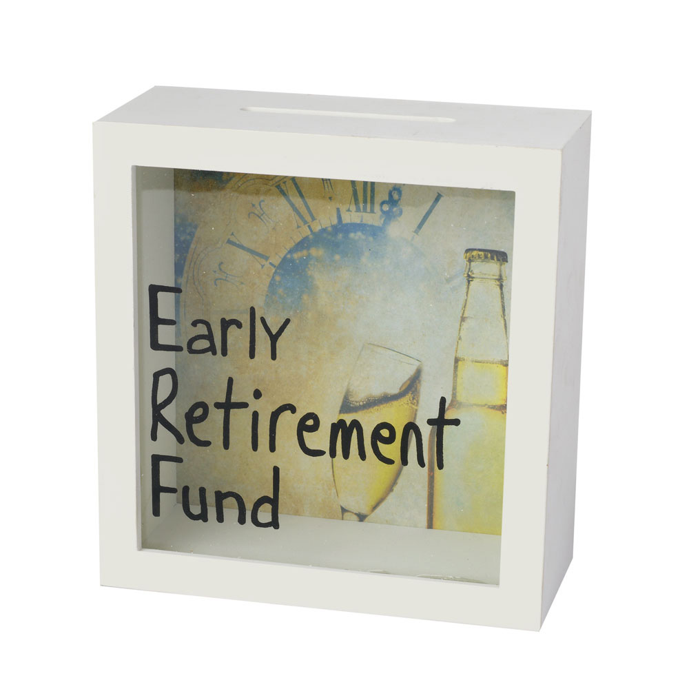 Early Retirement Fund Money Box