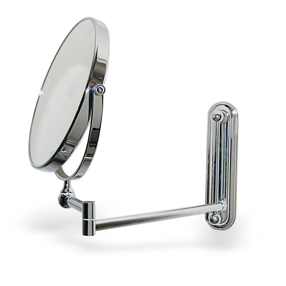 Wall Mounted Shaving Mirror bathroom mirrors extendable - healthydetroiter