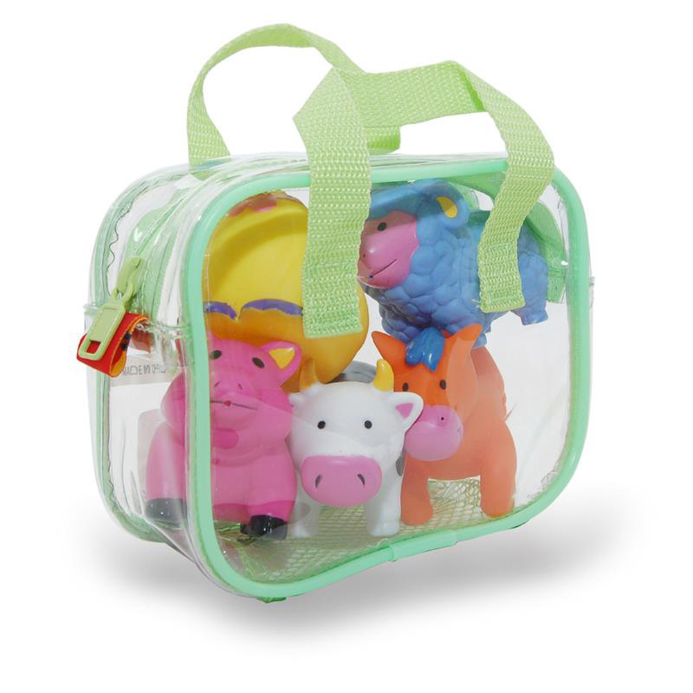Farm Animals Bath Squirters Kids Toy