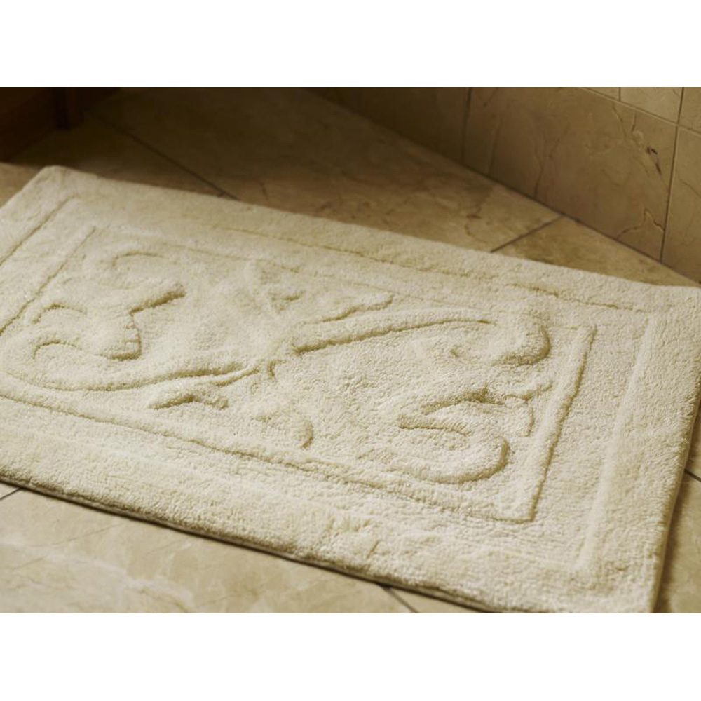 Luxury Bathroom Shower Mat - Cream