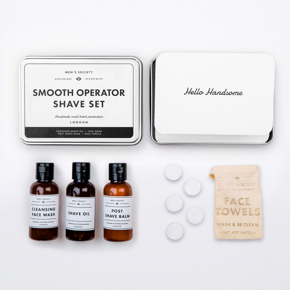 Men's Society Smooth Operator Shave Set