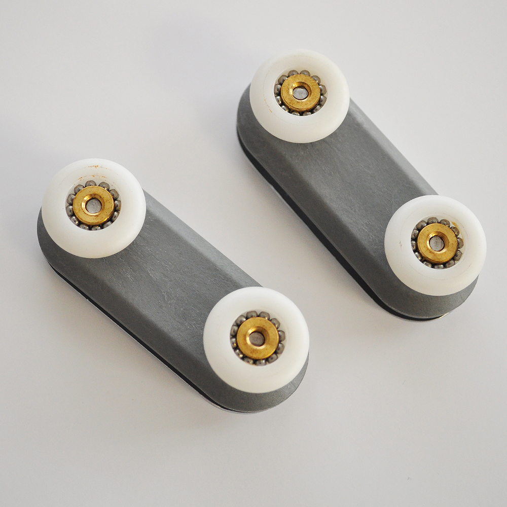 2 x Orbital Slider Double Bearing Assembly