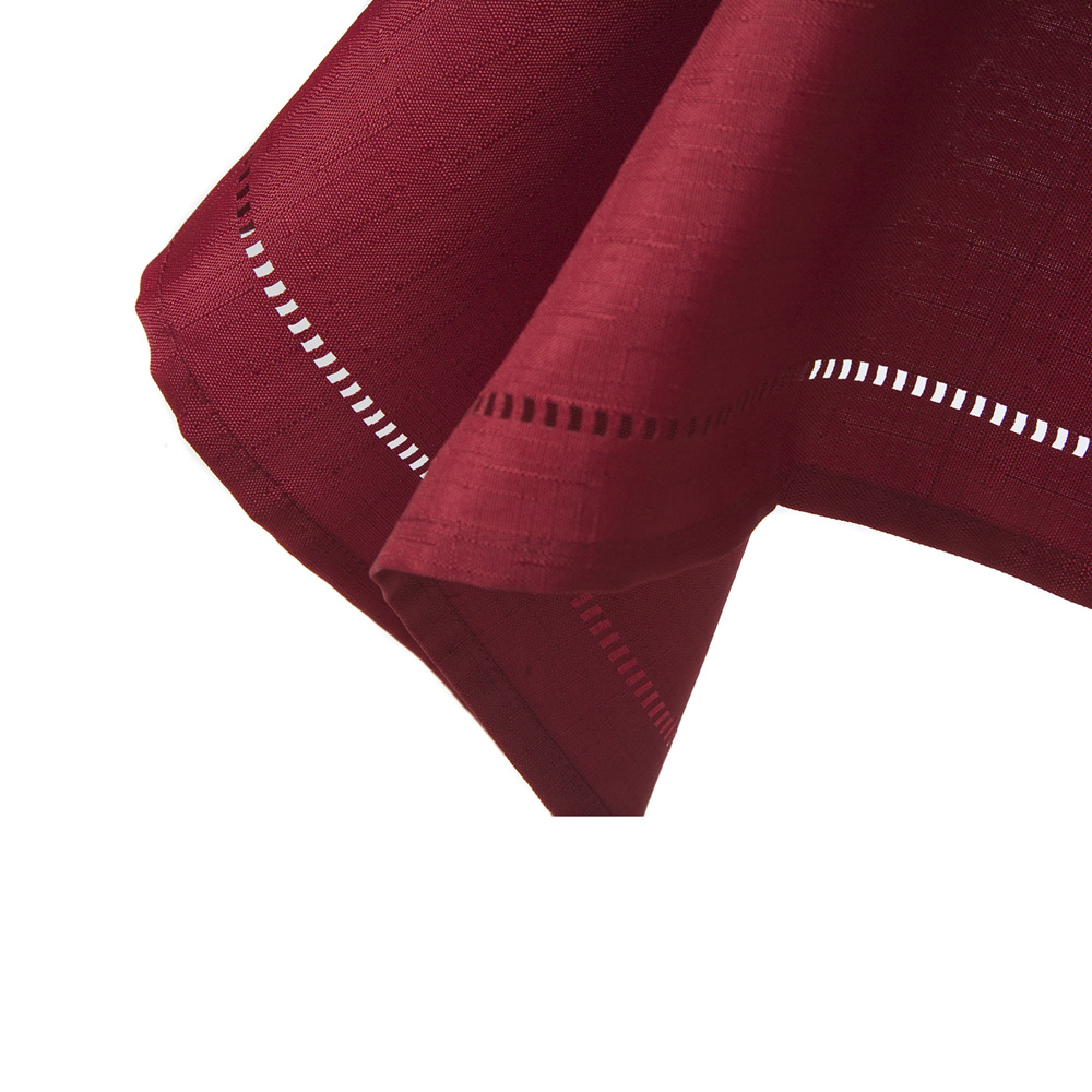 Red Sienna Tablecloth Square 137x137cm