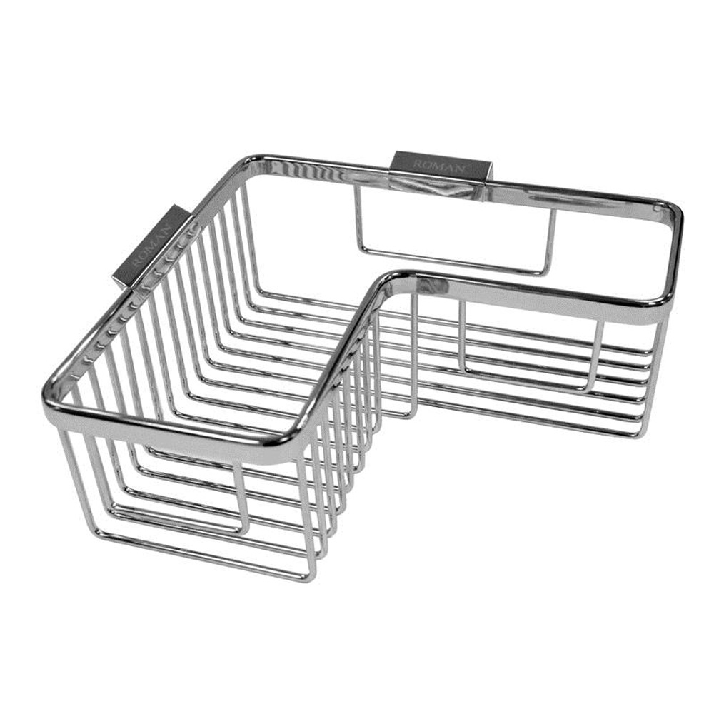 Roman Corner Chrome Shower Basket 5014112014461 | eBay