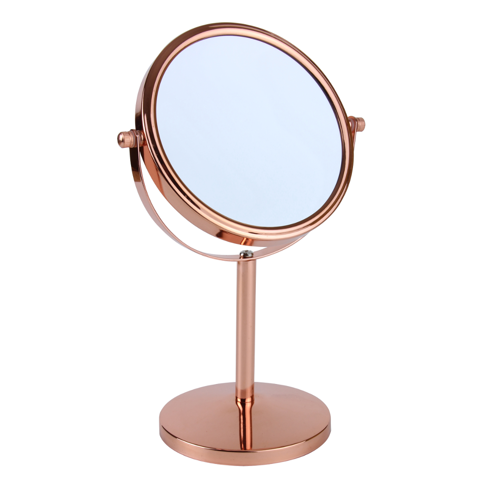 Rose Gold Freestanding Mirror