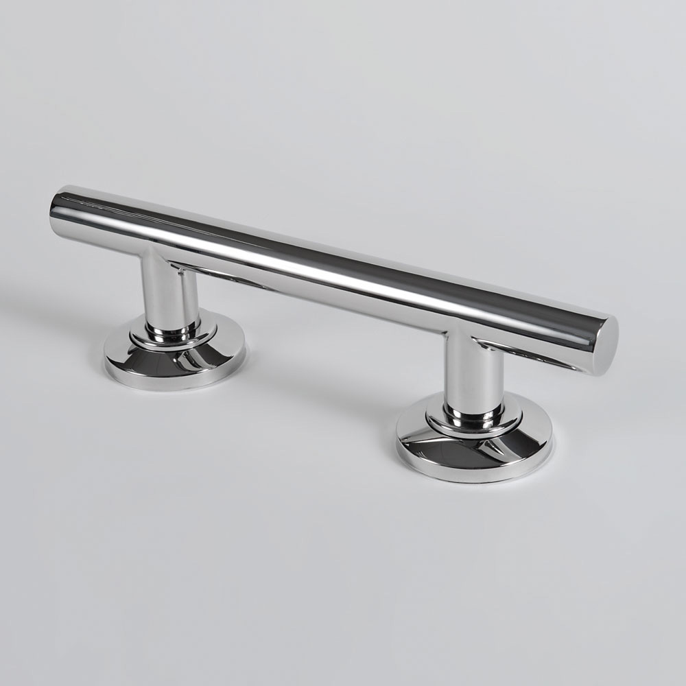 Curved Stainless Steel Grab Rail | Roman At Home